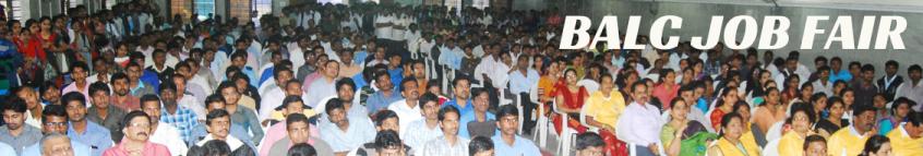 BALC Job Fair in Bengaluru